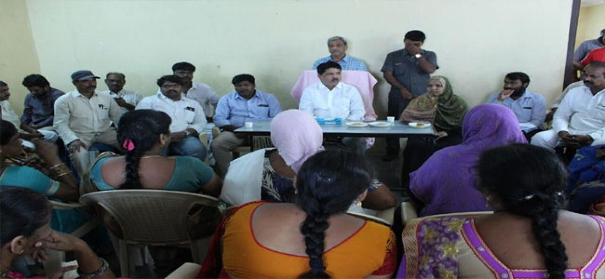 MLA assures to solve women problems