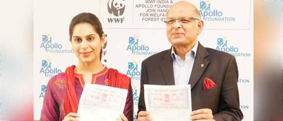 Apollo partners with WWF