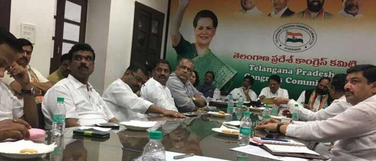 One-day training programme for Congress cadre in Warangal