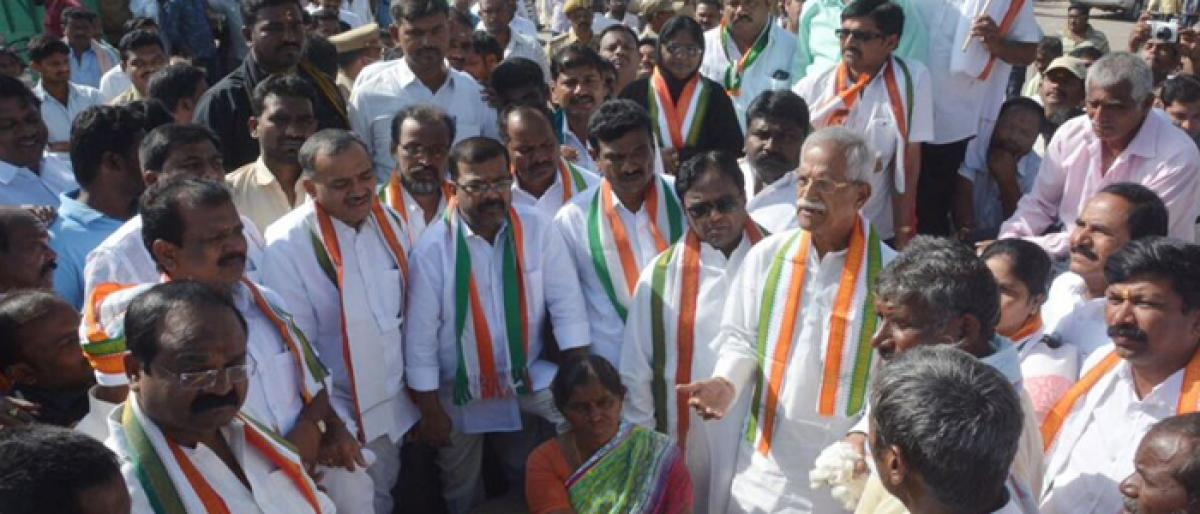 Congress calls for end of TRS regime