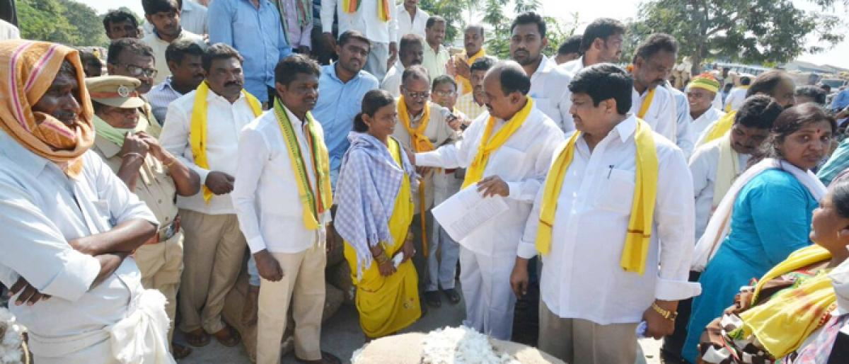 TDP demands support price for cotton