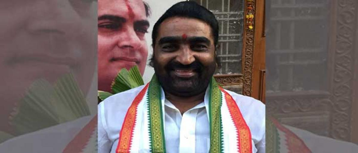 Warangal TPCC secretary invited to INOC youth meeting