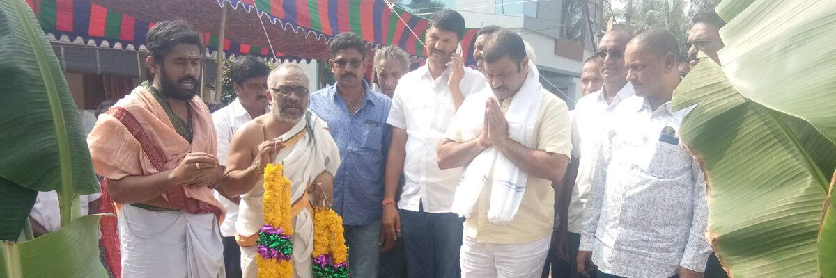 Stone laid for water treatment plant