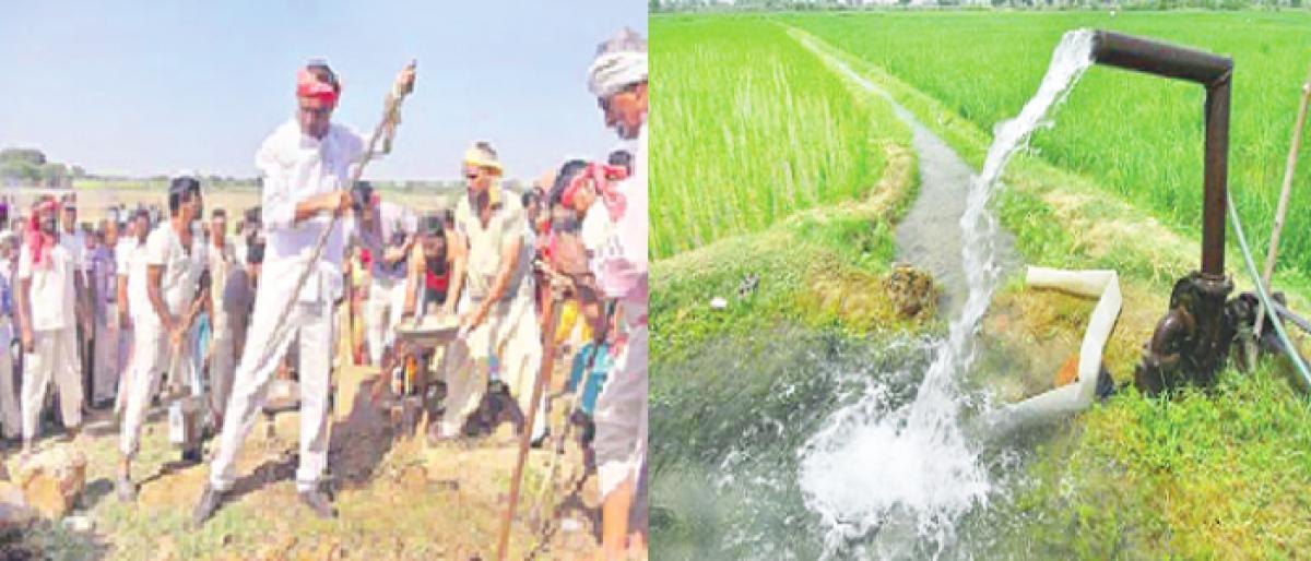 Telangana gives mega push to irrigation projects