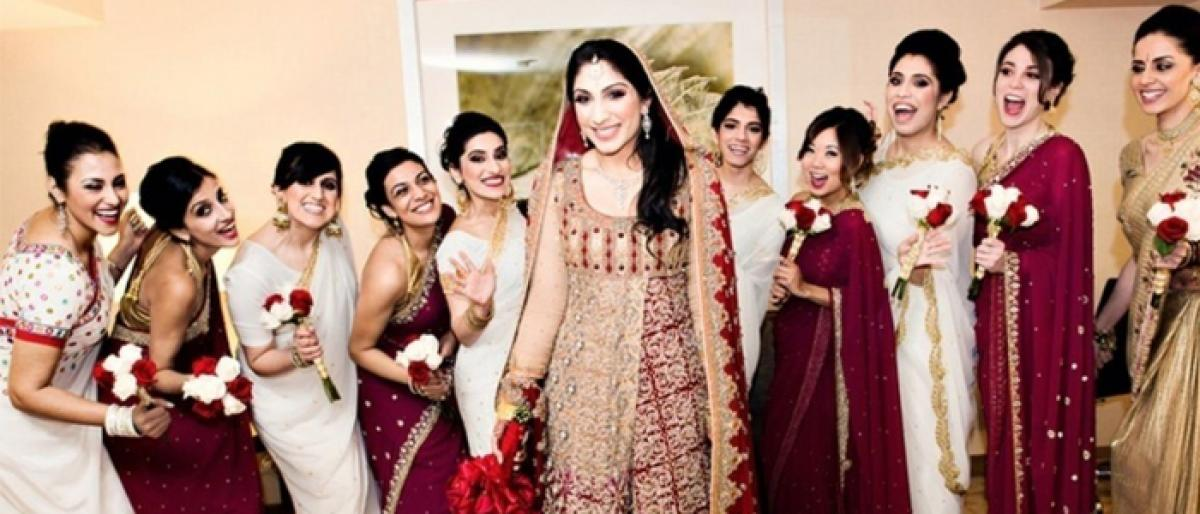 Match your way as a bridesmaid