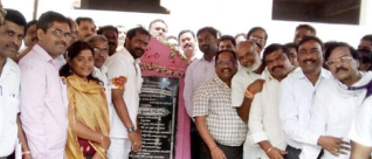 Foundation laid for Wellness Centre
