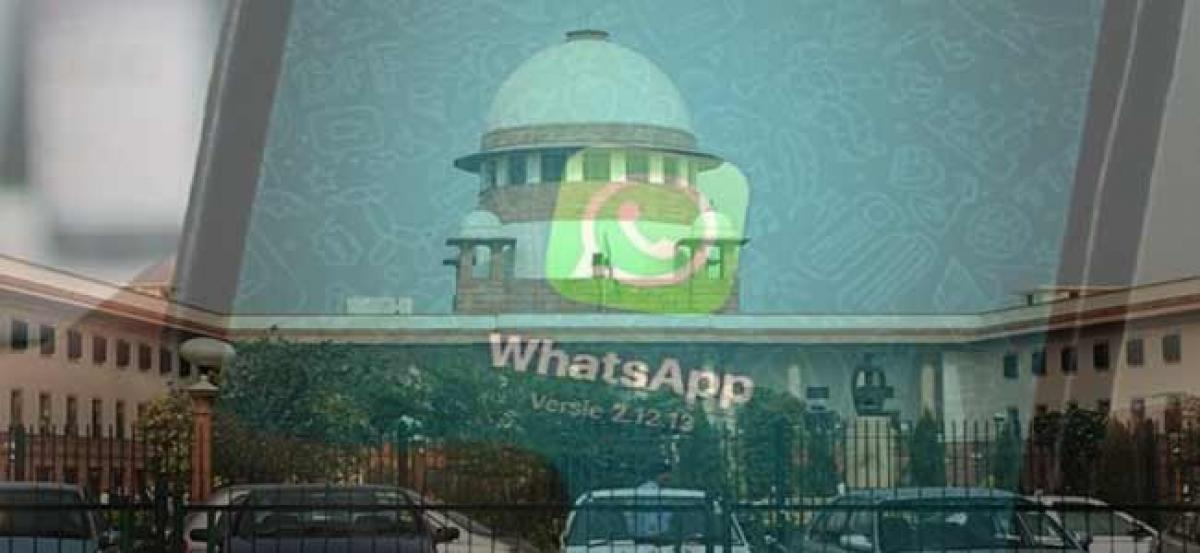 SC questions WhatsApp, IT and Finance ministries for not appointing Grievance officer yet