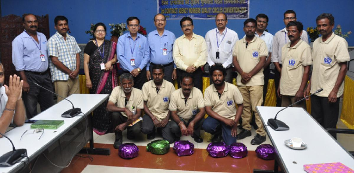 Agency workers' efforts for excellence lauded