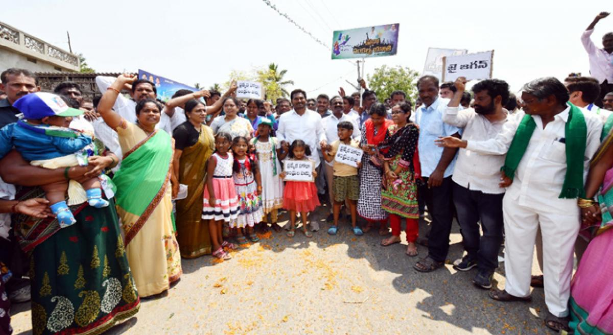 Jagan promises houses to the homeless