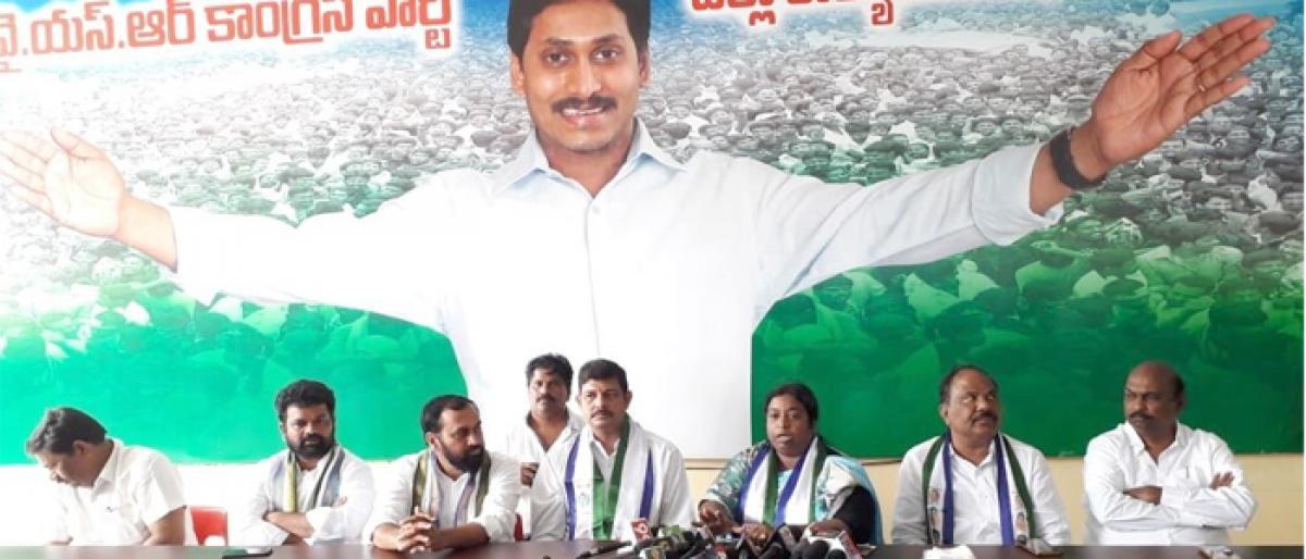 Govt doing injustice to Dalit farmers in Amaravati: YSRCP