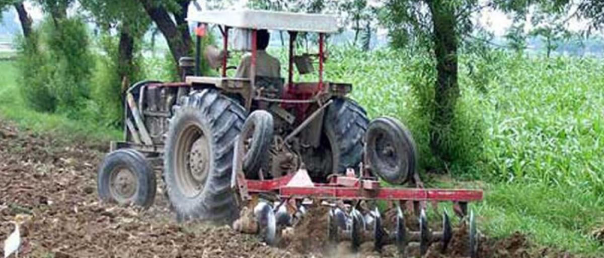 Tractors to be distributed to farmers today