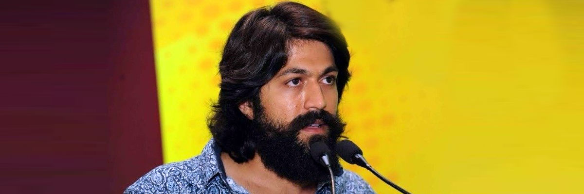 KGF star gives clarity about his role in RRR