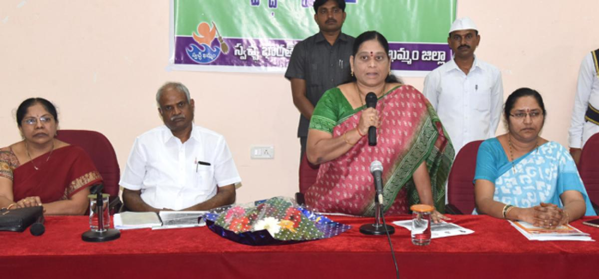 Keep surroundings clean: ZP Chairperson to citizens