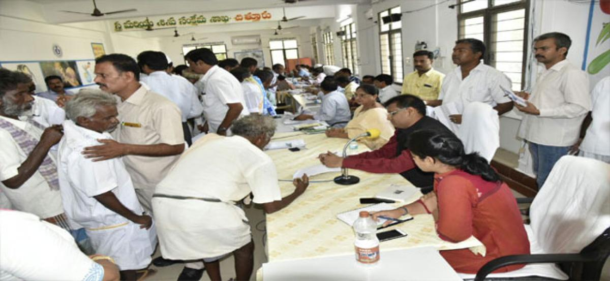 Priority in resolving petitions of senior citizens, women, disabled