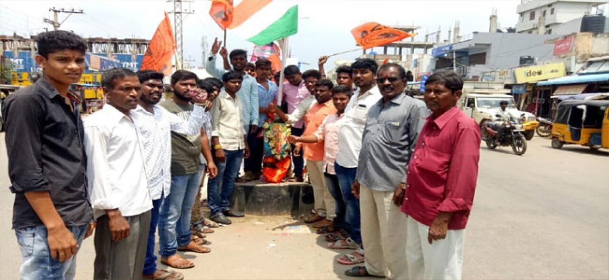 ABVP celebrates Telangana Liberation Day