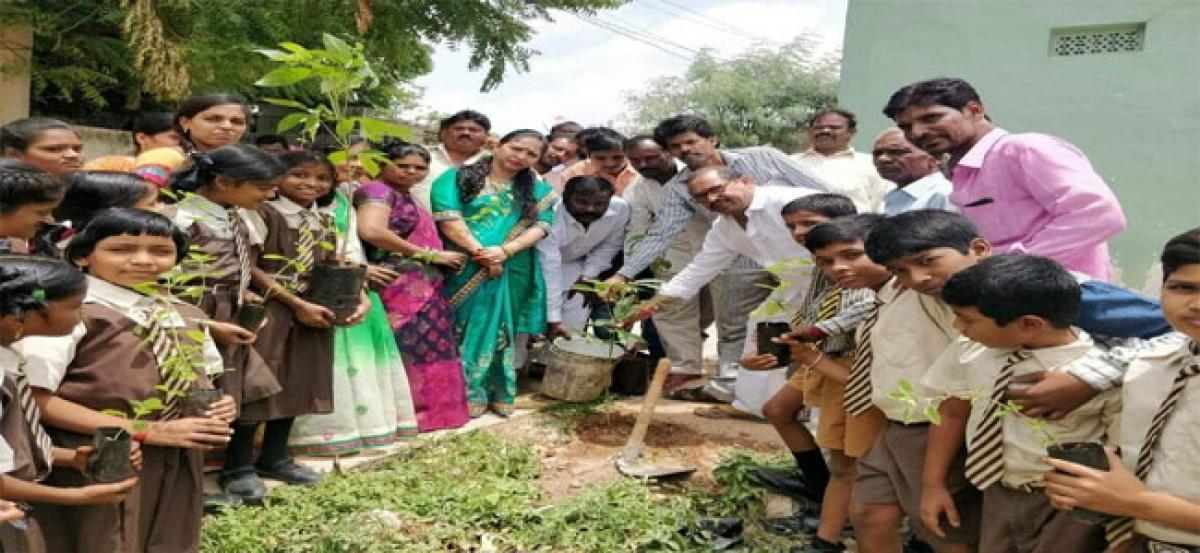 Dodla participates in Haritha Haram