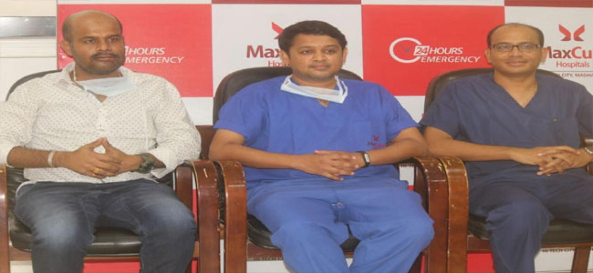 Advanced plastic surgery Patient's mid face repaired successfully
