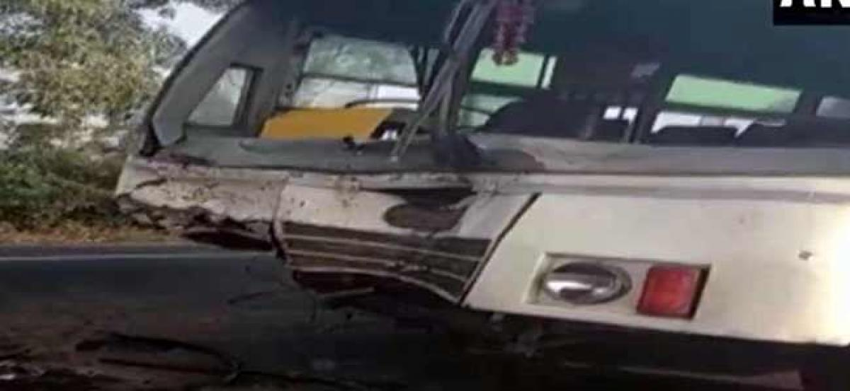 Sambhal: At least six killed as bus collides with car