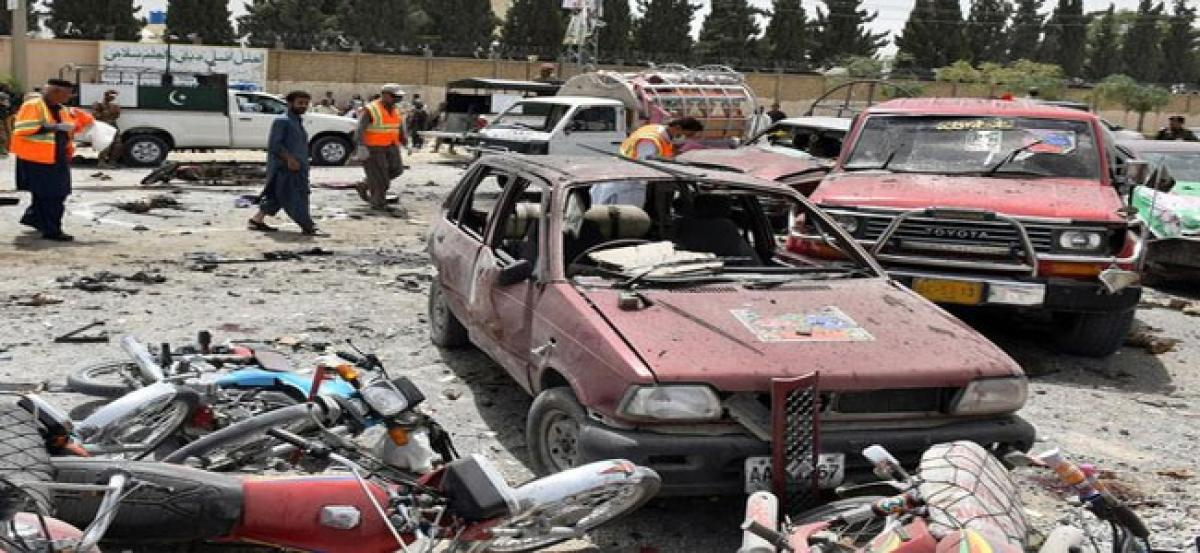 Quetta blast: Death toll rises to 31