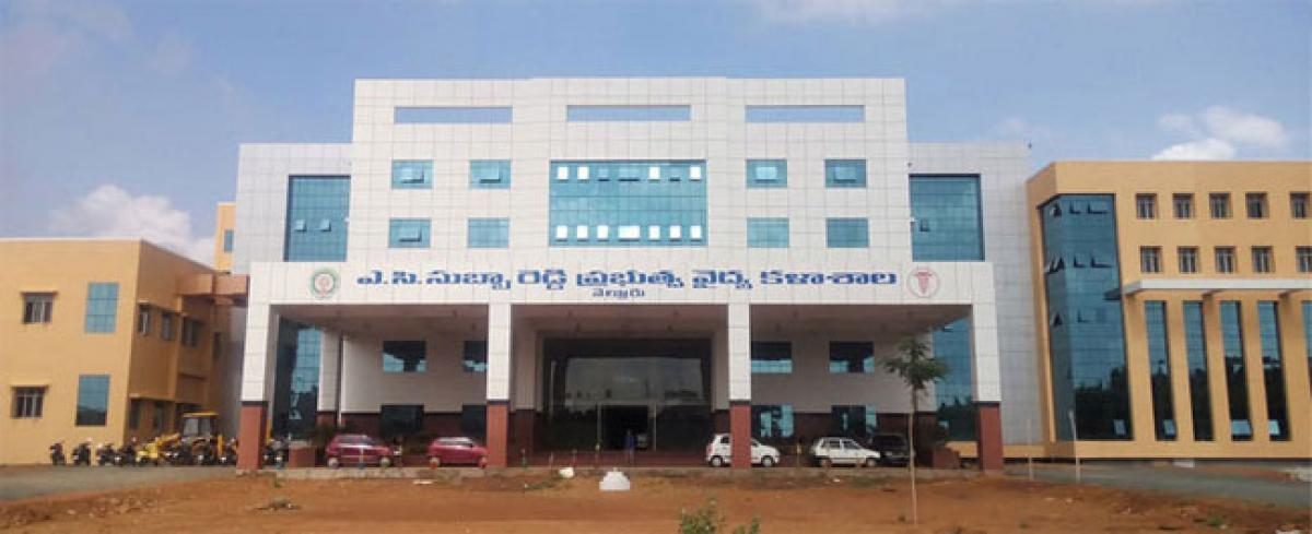 Pre-clinical courses planned at ACSR Government Medical College