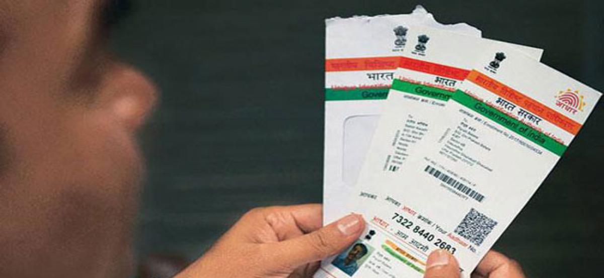 Government mulls Aadhaar like unique identity for biz: FM Arun Jaitley