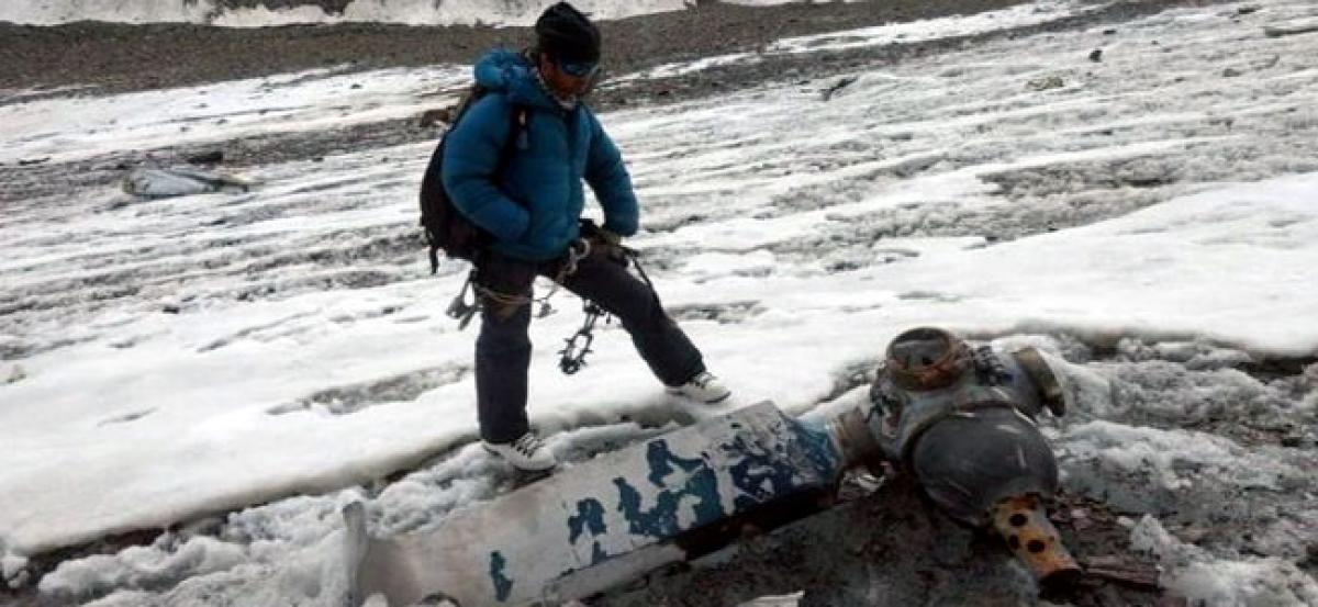 A mountaineering expedition found the body of a soldier belonging to the 1968 AN-12 aircraft crash