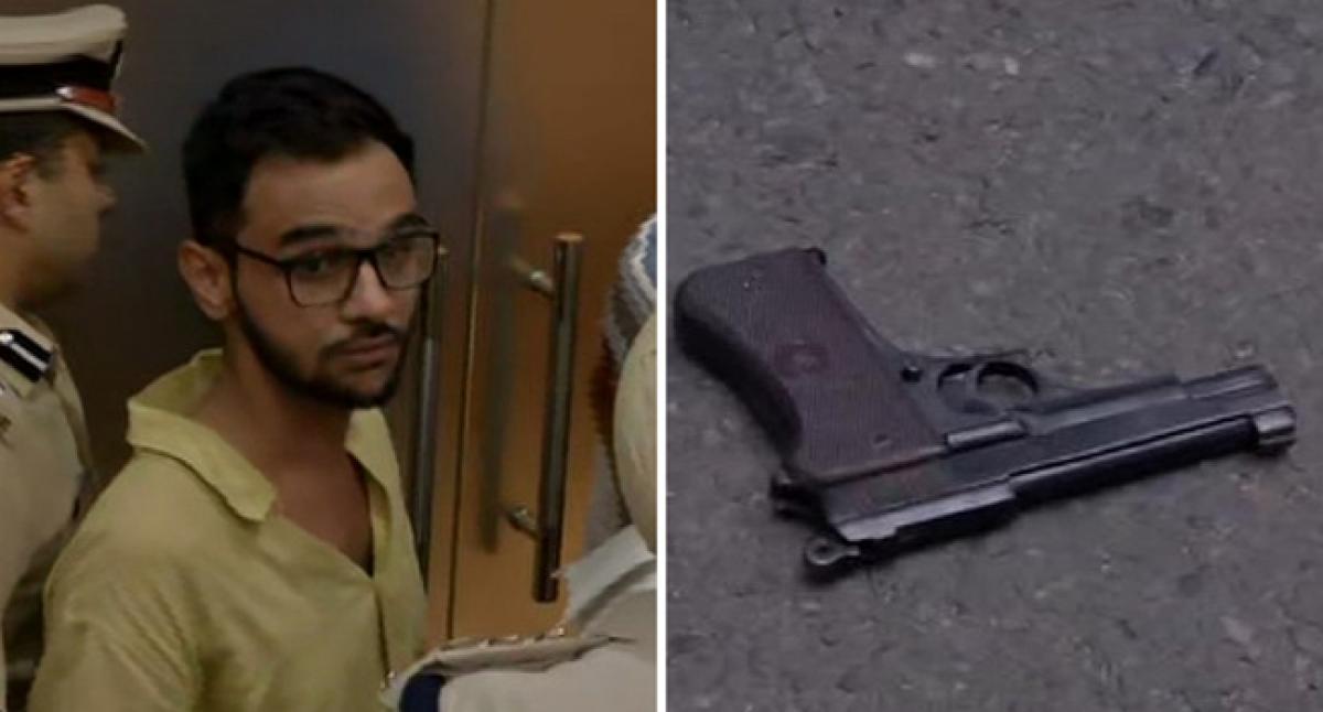 Umar Khalid attacked in Delhi