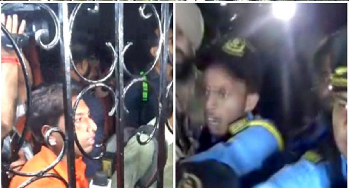 Journalists attacked by guards at Jalandhar Bishop Franco Mulakkal house