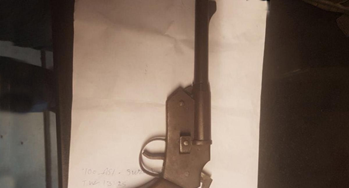 Maharashtra ATS seizes country-made weapons in Mumbai