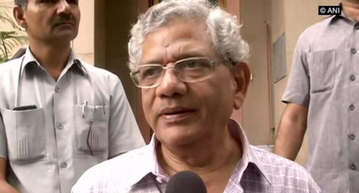 Firm defender of the Constitution: Yechury on Somnath Chatterjee