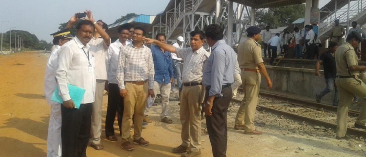 Rly doubling works to complete by April: DRM