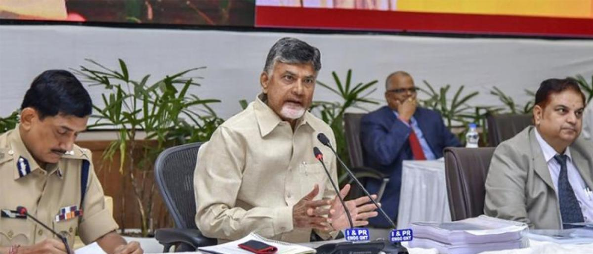 BJP conspiring to finish off Andhra, theyll pay heavy price: CM Naidu