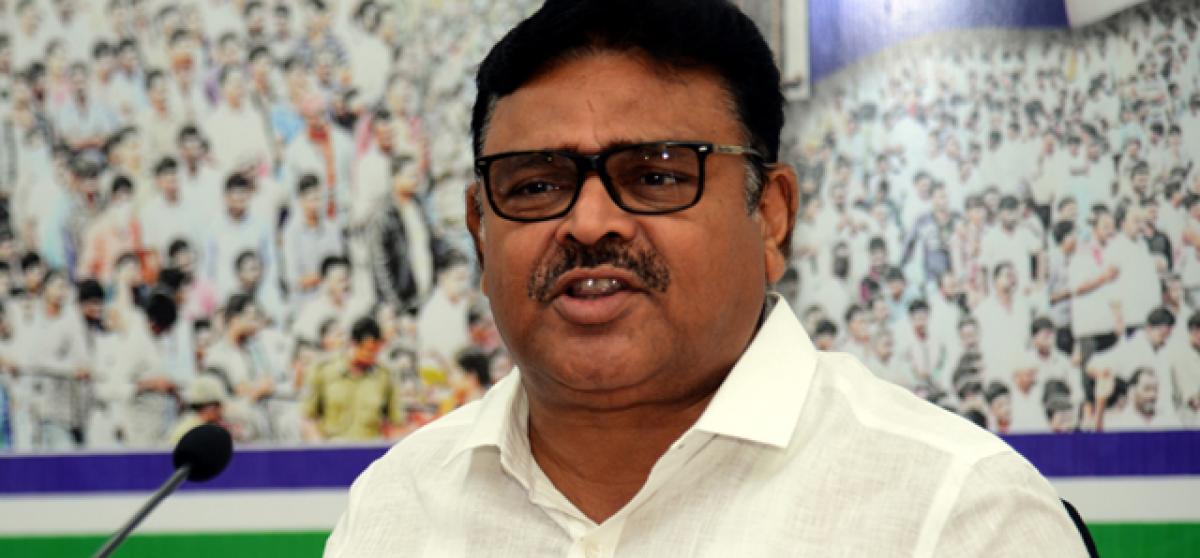 YSRCP terms Chandrababu Naidu No 1 betrayer of state