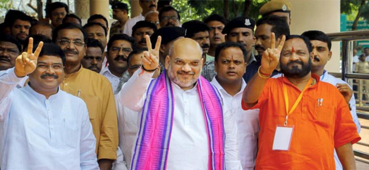 BJP will sweep polls in Odisha in 2019 under PM Modi, claims party chief Amit Shah