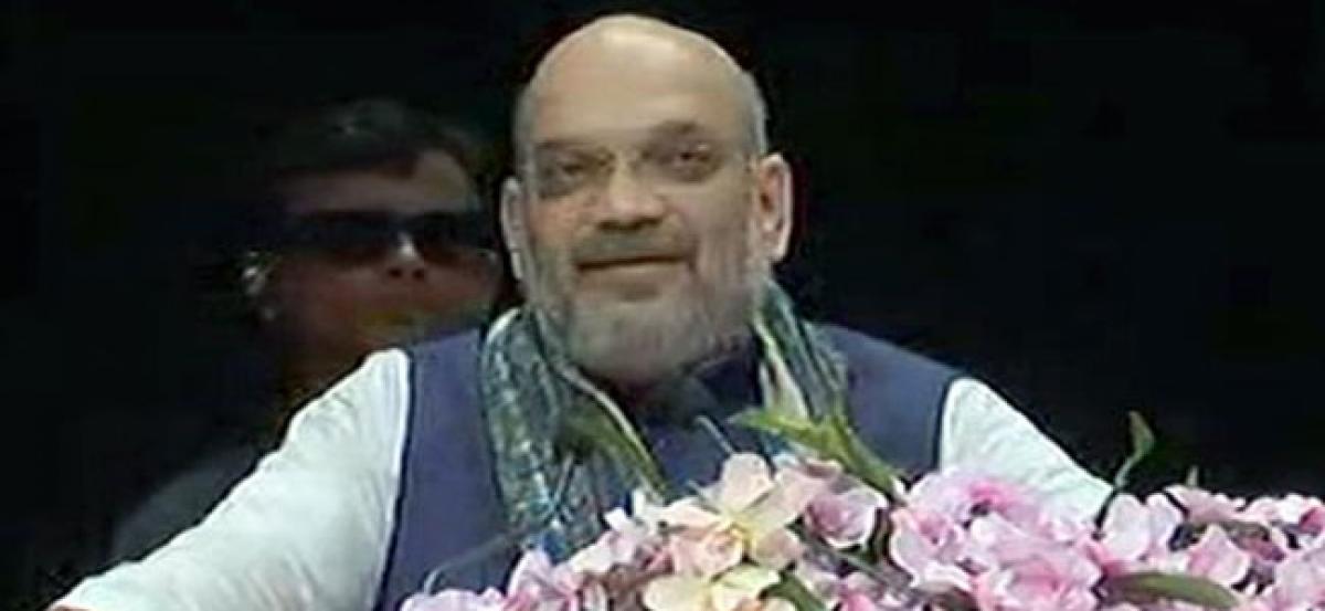 Will fight Lok Sabha polls with JD(U) on 40 seats: Amit Shah