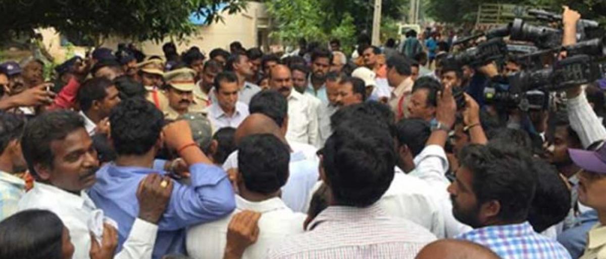 School principal, warden suspended in Khammam student murder