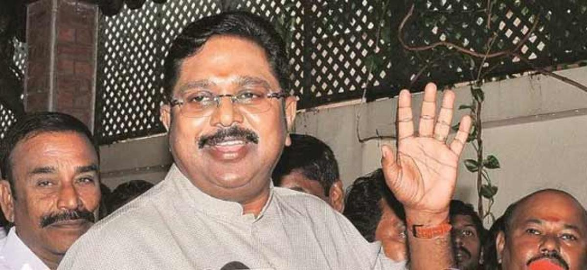 90 pc AIADMK workers support us, rest have 'selfish motives', claims Dhinakaran