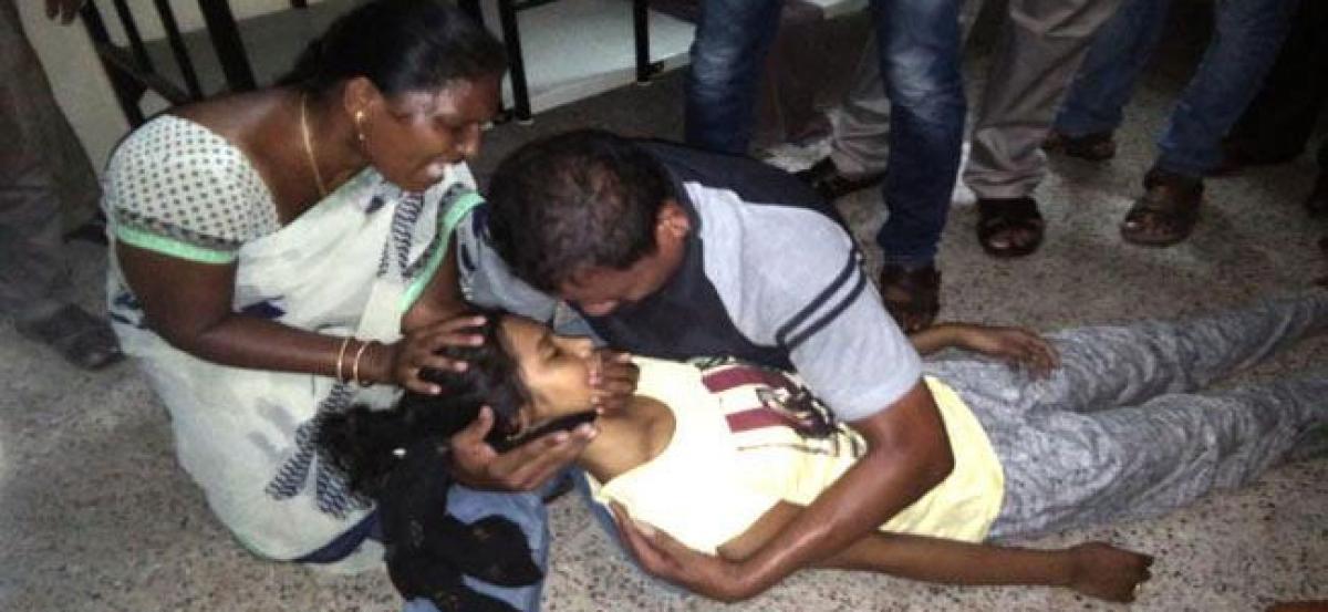 Doctor Aspirant Commits Suicide In Vizag College