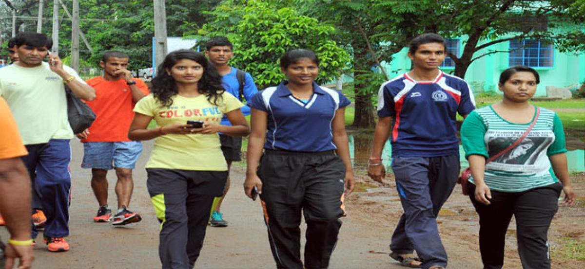 Acharya Nagarjuna University spruced up for National Athletics Meet
