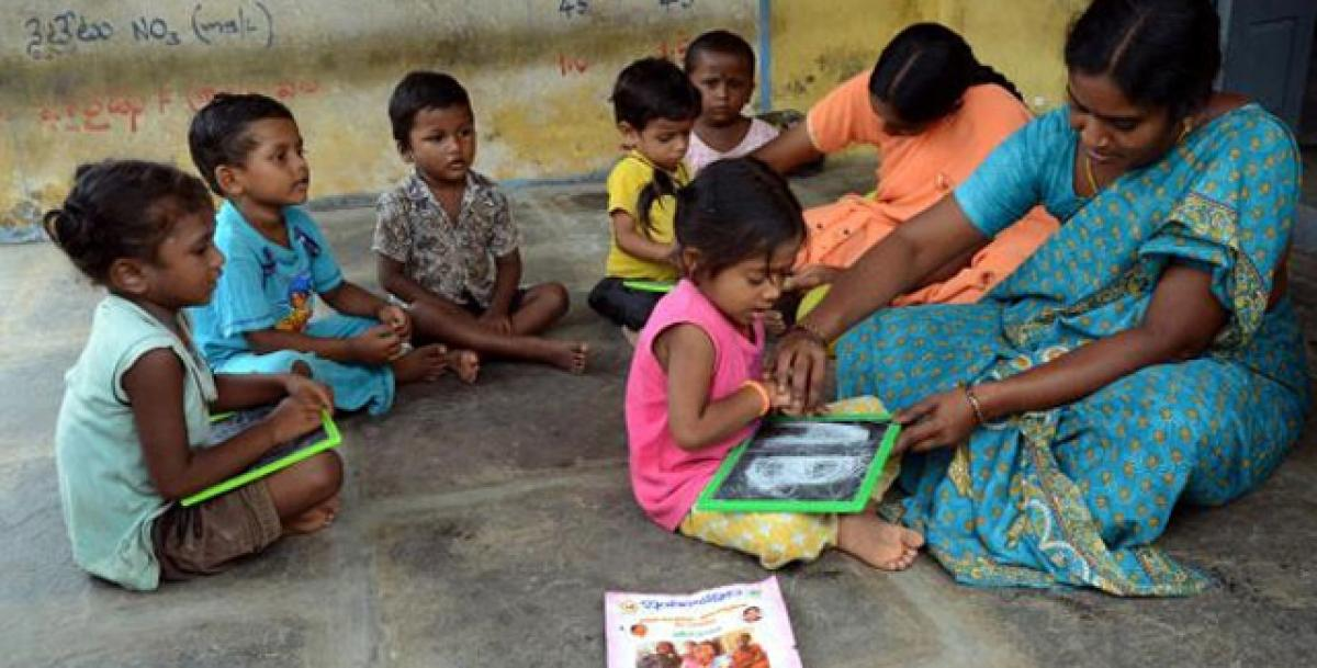 English medium education in Anganwadis still a non-starter