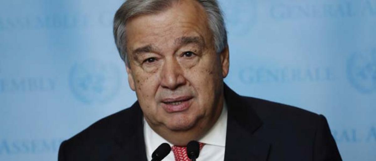 UN must support Indias climate leadership, development efforts: Guterres