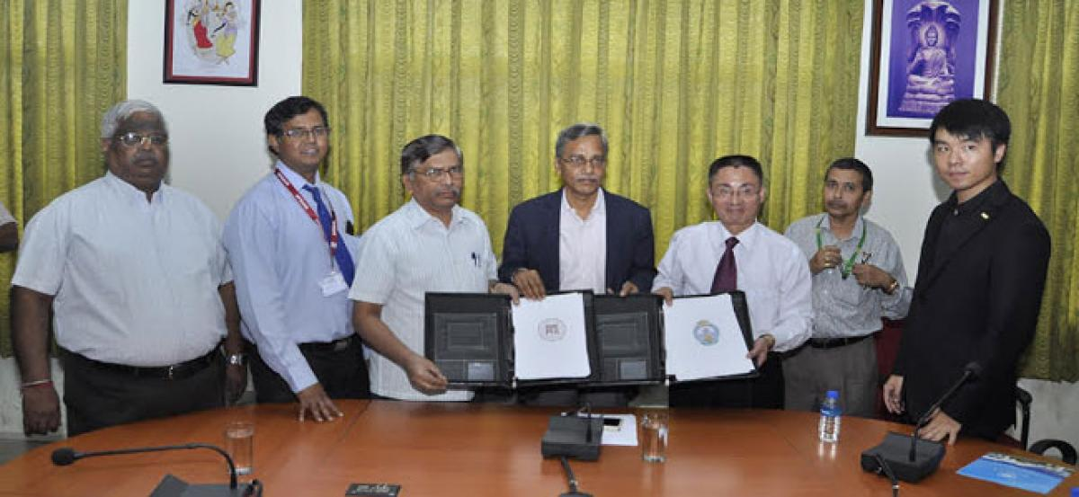 Acharya Nagarjuna University inks MoU with Guizhou University