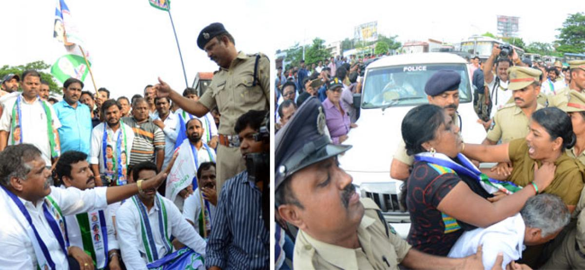 Mixed response evoked in Vizag