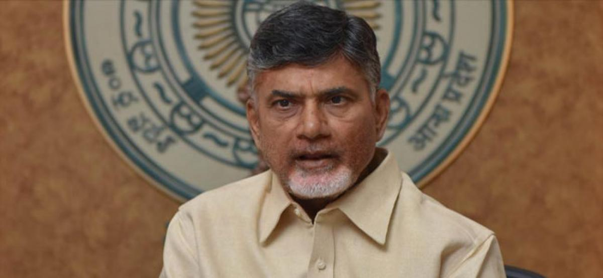 Hundred percent of expenditure on Polavaram must come from centre: Naidu