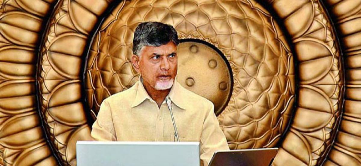 Chandrababu To Fix Centre On Pending Issues