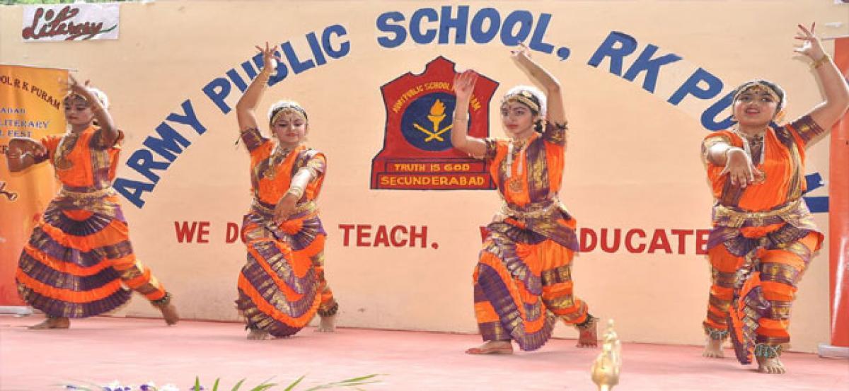 Army Public School RK Puram organises literary and cultural fest