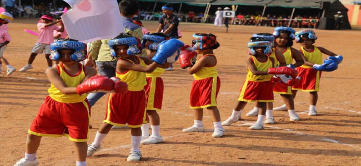 Army Public School celebrates Sports Day