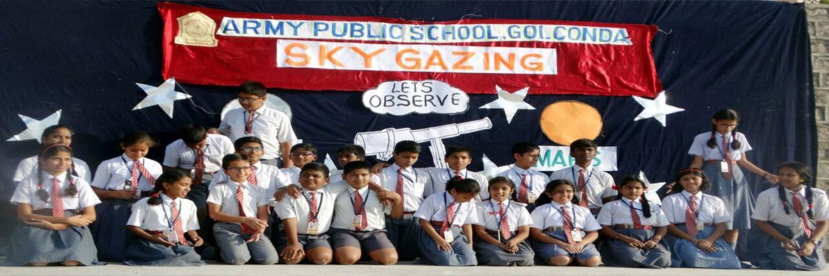 Army Public School organises sky observation programme
