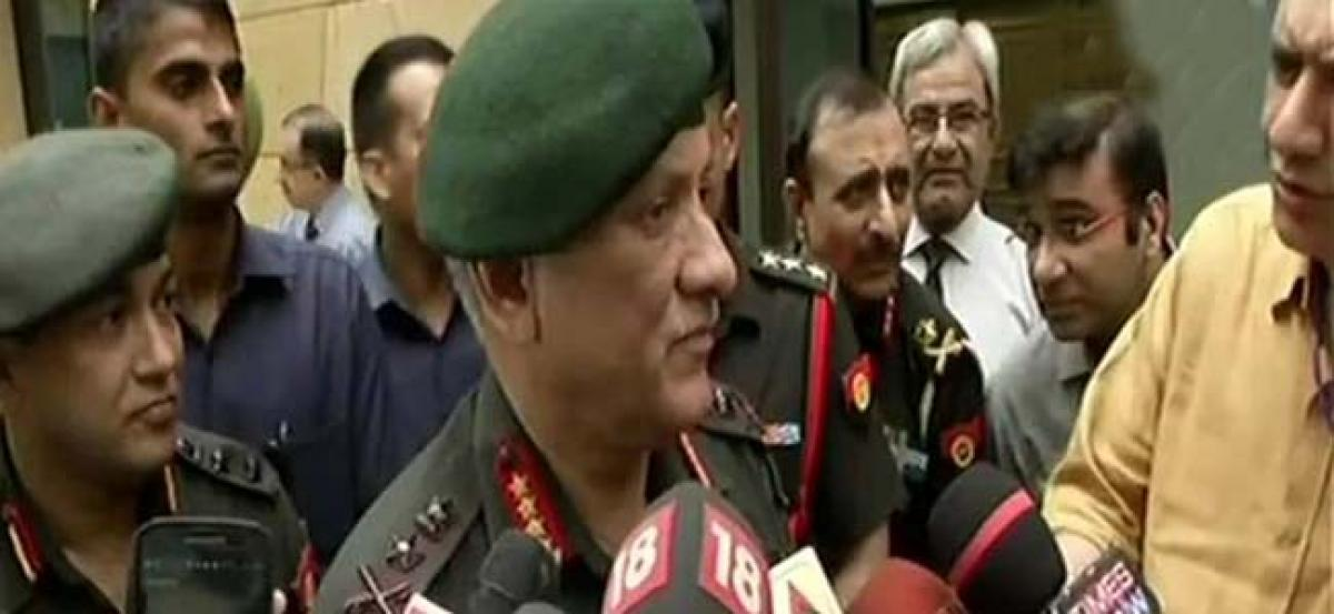 Army chief assures stern action against Major Gogoi
