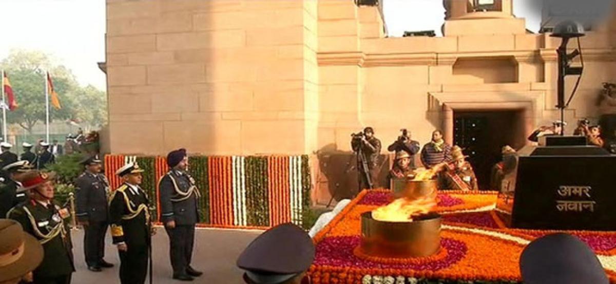 India celebrates 70th Army Day